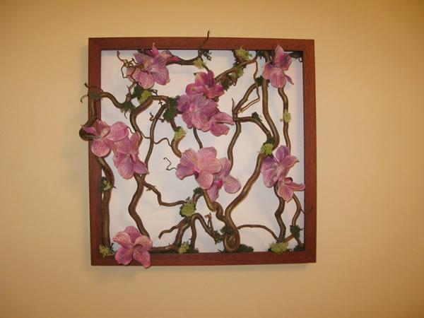 Декоративное панно своими руками на стену