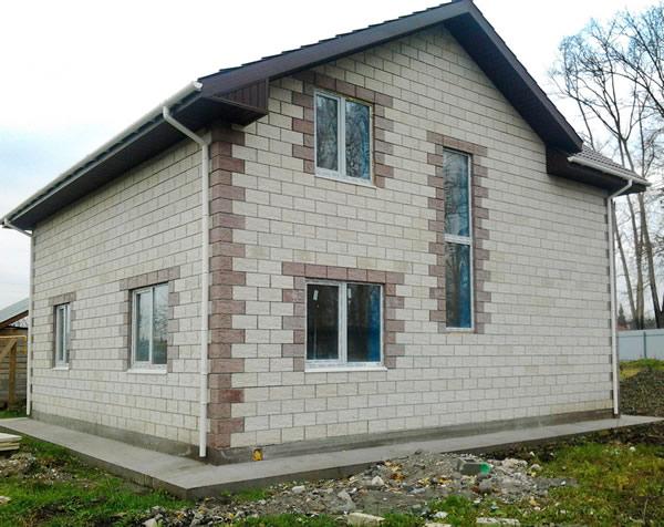 Дома из теплоблока фото