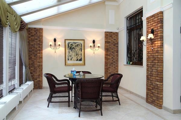 Внутренний дизайн веранды в частном доме